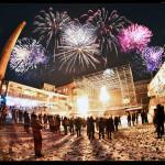 Feuershow Arena Wien 2014/2015