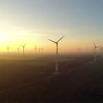 Luftaufnahme Windräder