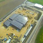 Luftaufnahme Autohaus Kamper