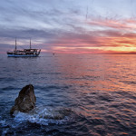 Boot-Sonnenuntergang-web