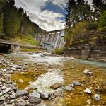 Staudamm in Auronzo