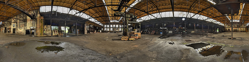 Stahlwerk-Panorama